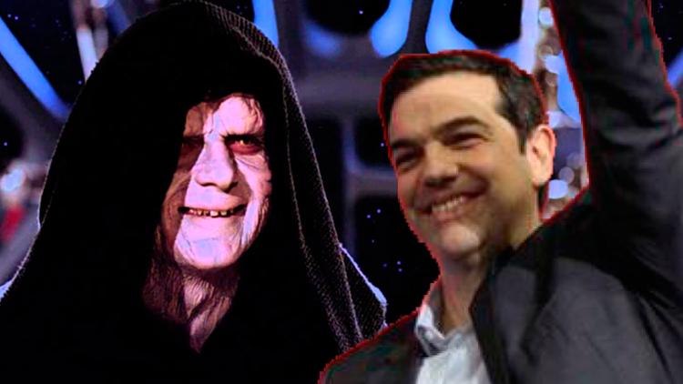 Tsipras se ha pasado al lado oscuro de la fuerza