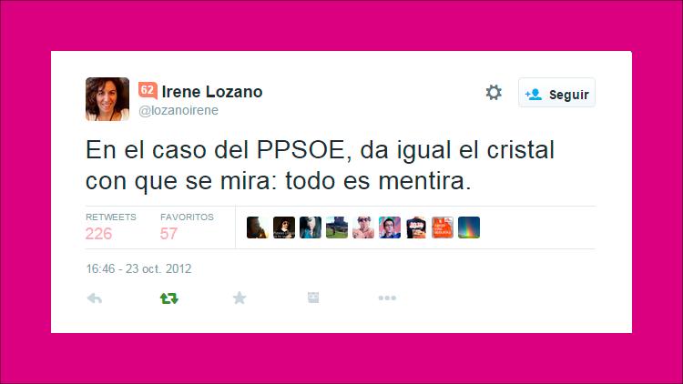 ¿Qué aprendemos del caso de Irene Lozano?