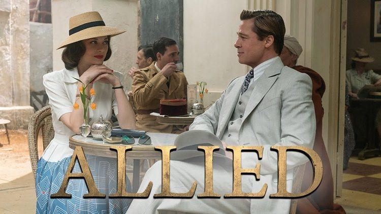 """Brad Pitt y Marion Cotillard se alian con el cine clásico de espías en """"Aliados"""""""
