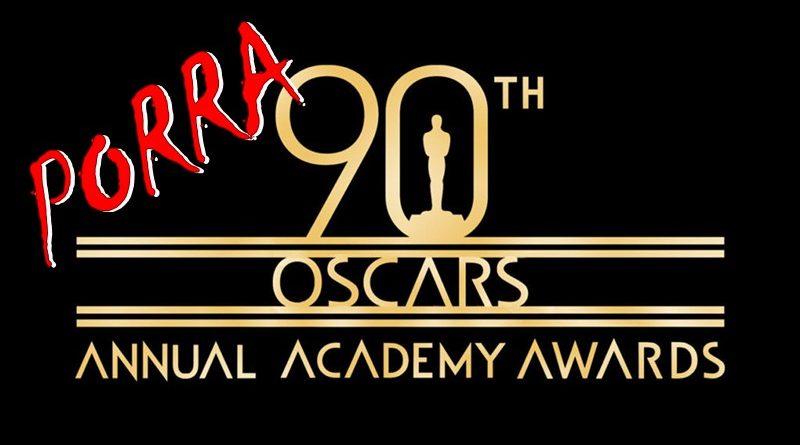 Porra Oscars 2018